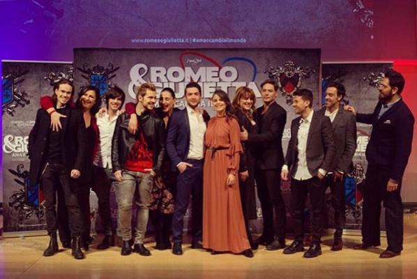 Romeo e Giulietta - Ama e cambia il mondo, cast 2018