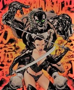 La Lady Gorgon dei fumetti