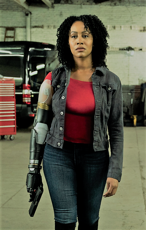 Misty Knight in Defenders