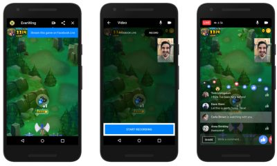 messenger, Facebook, Facebook messenger, giochi, giochi live, giochi streaming