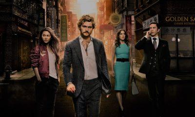 Il poster della prima stagione di Iron Fist