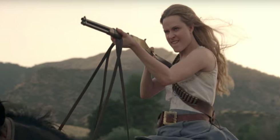 Tra le anticipazioni su Westworld 2, una Dolores senza controllo.