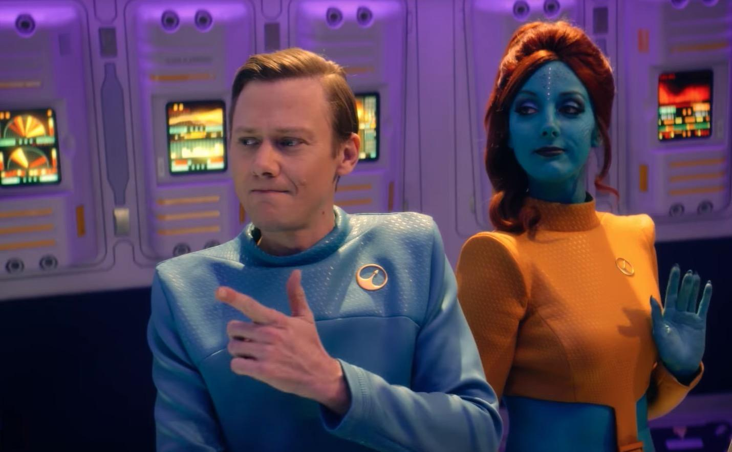 Lo stesso cast nello spin off su USS Callister?