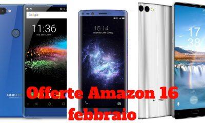 Offerte Amazon 16 febbraio