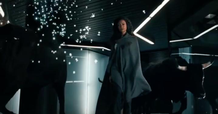 Maeve in una scena del trailer di Westworld 2