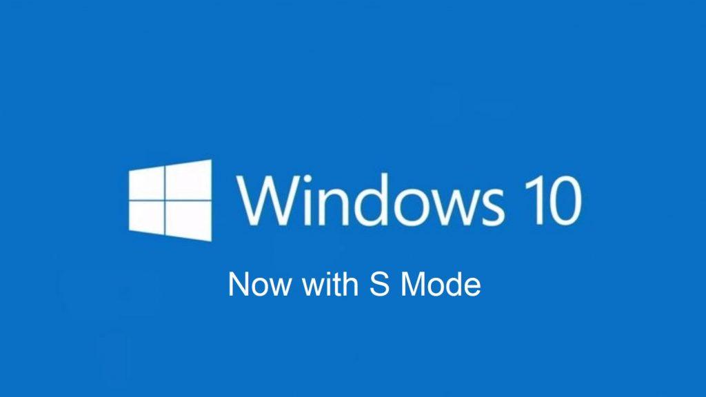 Windows 10 S in Windows 10