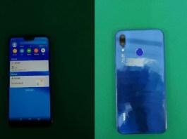 Huawei P20 Lite, foto reali