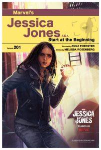 Jessica Jones 2: le locandine delle 13 artiste