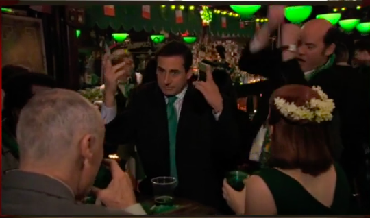 St. Patrick's Day: The Office