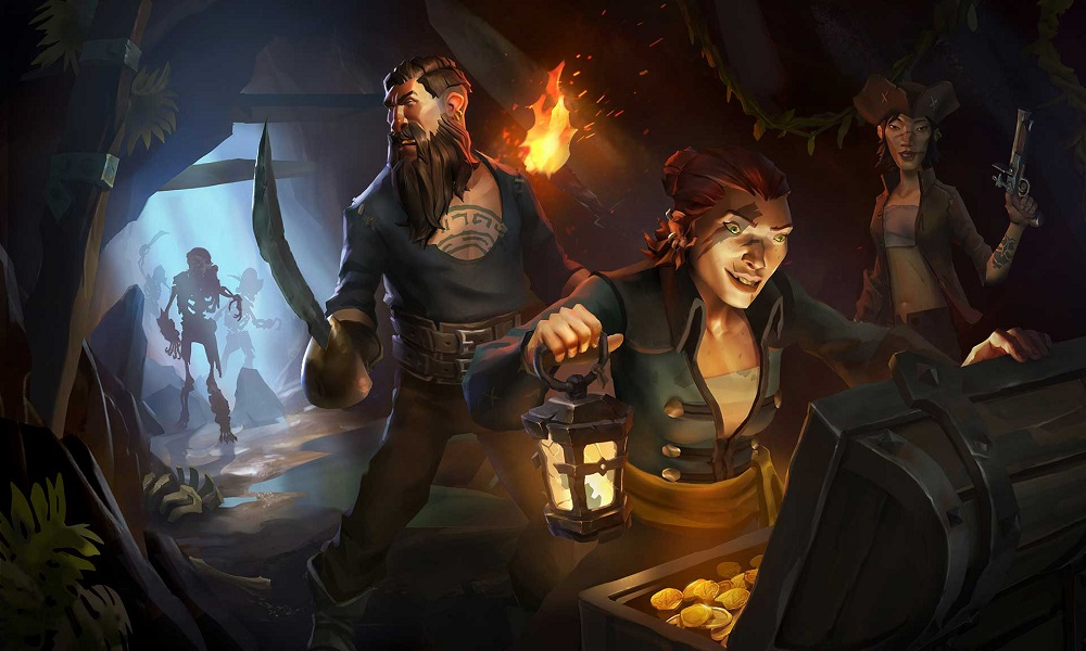 Sea of Thieves è ora pre-scaricabile, promozione con Xbox One X