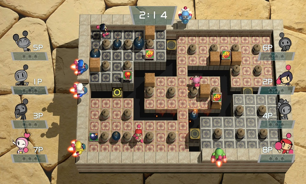 Super Bomberman R arriva su PS4, Xbox One e PC