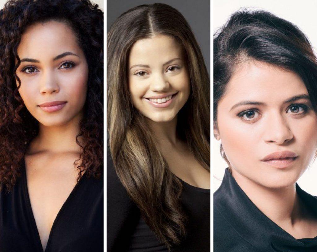 Attrici di Streghe Melonie Diaz, Sarah Jeffery,Madeleine Mantock.