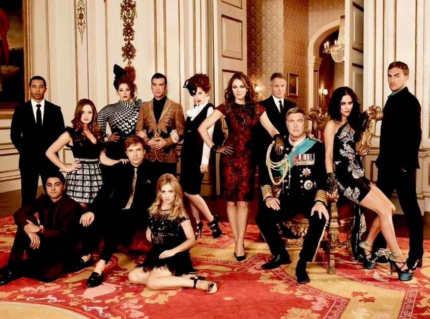 The Royals 4: il cast