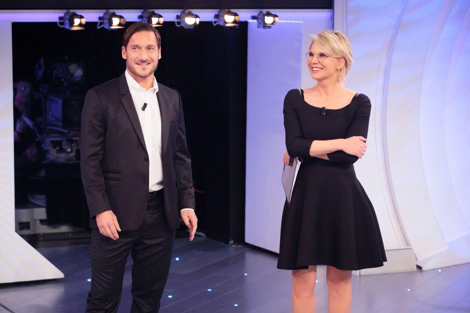 Domani ad Amici di Maria De Filippi arriva Francesco Totti