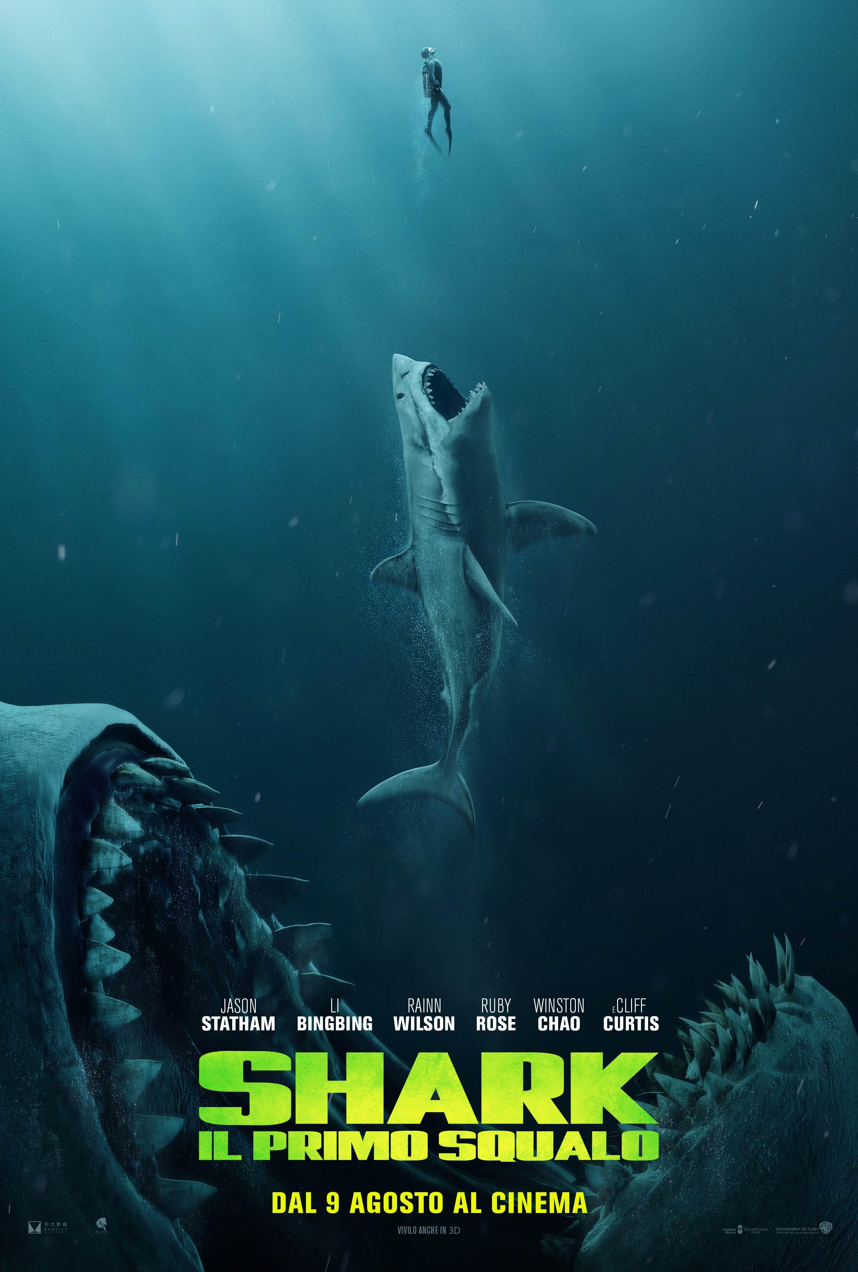 Shark il primo squalo trailer ufficiale e locandina for Shark il primo squalo streaming