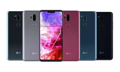 LG G7 TinQ Colors