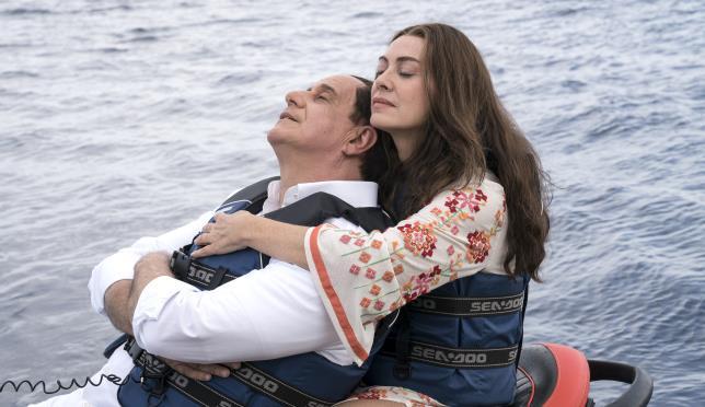 Loro 1 - Servillo e Elena Sofia Ricci