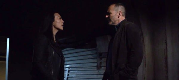 Coulson e May in Agents of SHIELD 5x17