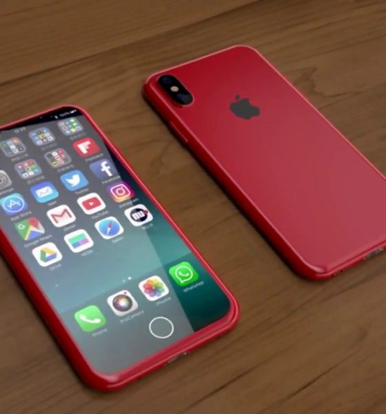 IPhone 8 (PRODUCT)RED è realtà: lo schermo è nero