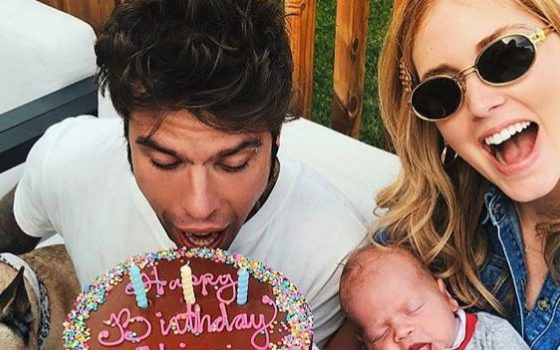 Chiara Ferragni età, così la fashion-blogger festeggia il primo compleanno da mamma