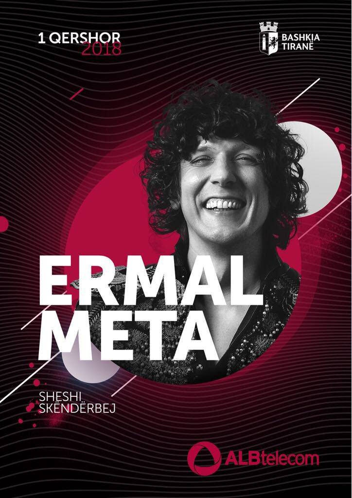 Ermal Meta: in concerto in Albania per la festa della Repubblica italiana