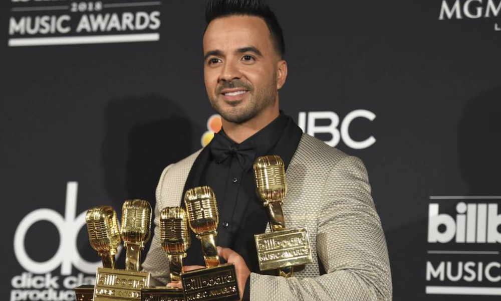 Despacito: la migliore canzone latina ai Billboard Music Awards