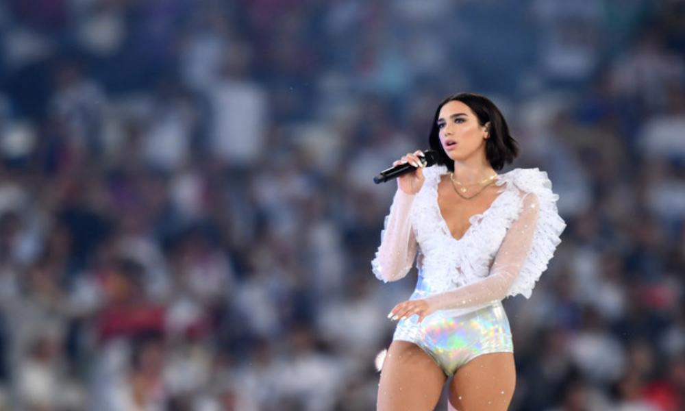 """Dua Lipa: Mediaset oscura l'esibizione della cantante kosovara prima della finale """"Champions League 2018'"""