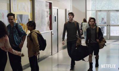 Tyler in una scena del trailer di 13 Reasons Why 2
