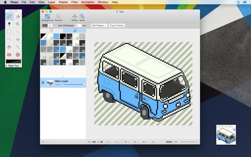 pixen software