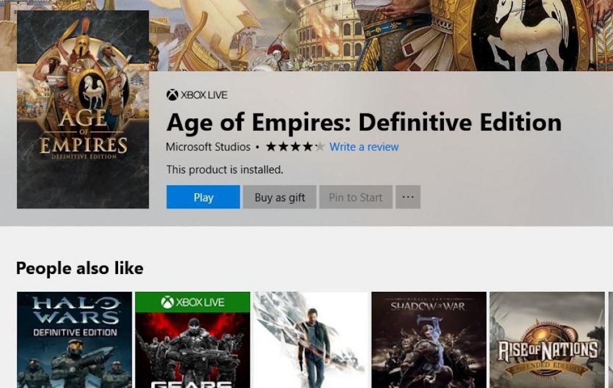 È ora possibile regalare anche i giochi per PC — Microsoft Store