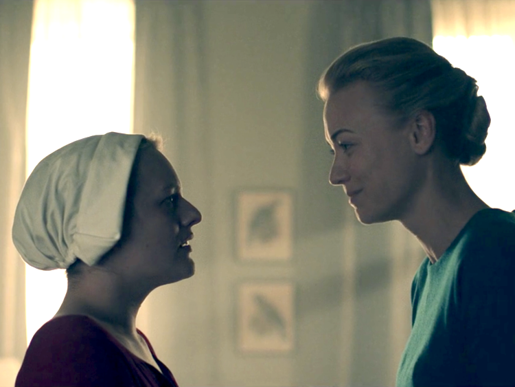 The Handmaid's Tale: Offred e Serena