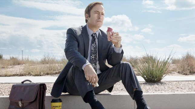 Una scena di Better Call Saul 4