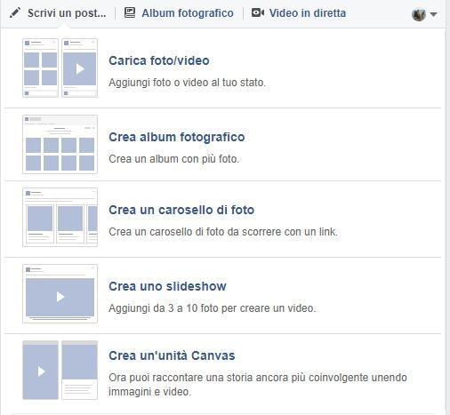 Facebook slideshow
