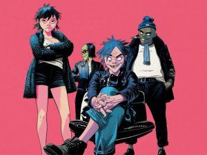 Gorillaz, la nuova copertina di The Now Now