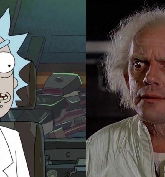 Rick e Morty Christopher Lloyd