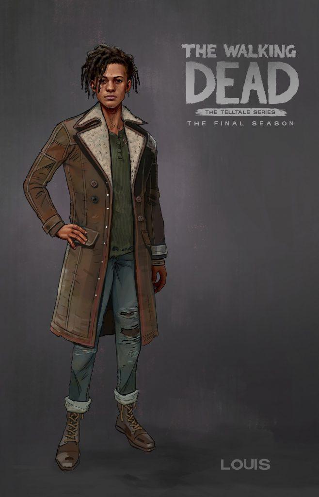 the Walking Dead The Final Season louis