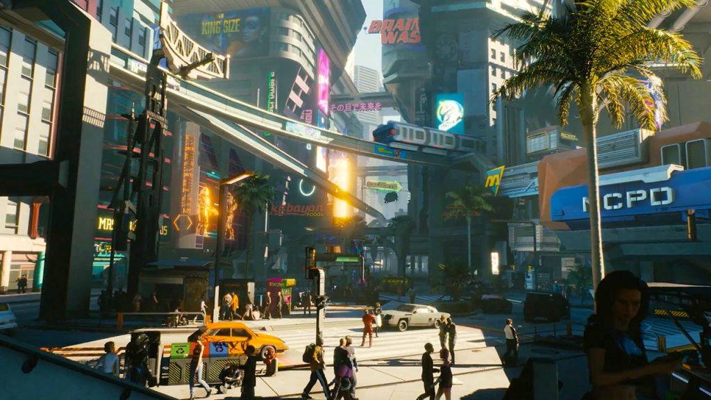 cyberpunk 2077 ambientazione