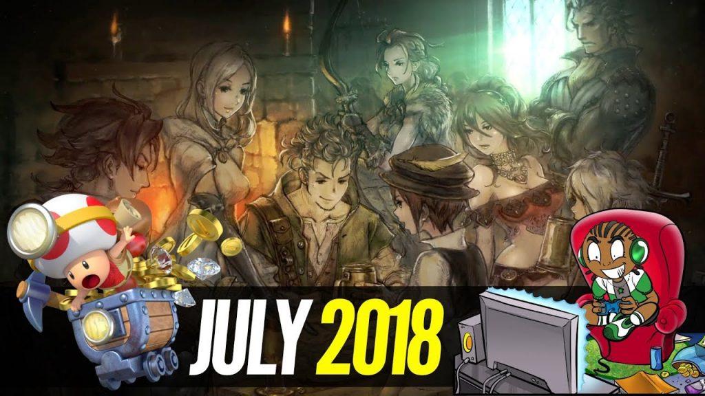 Octopath traveler giochi in uscita luglio 2018