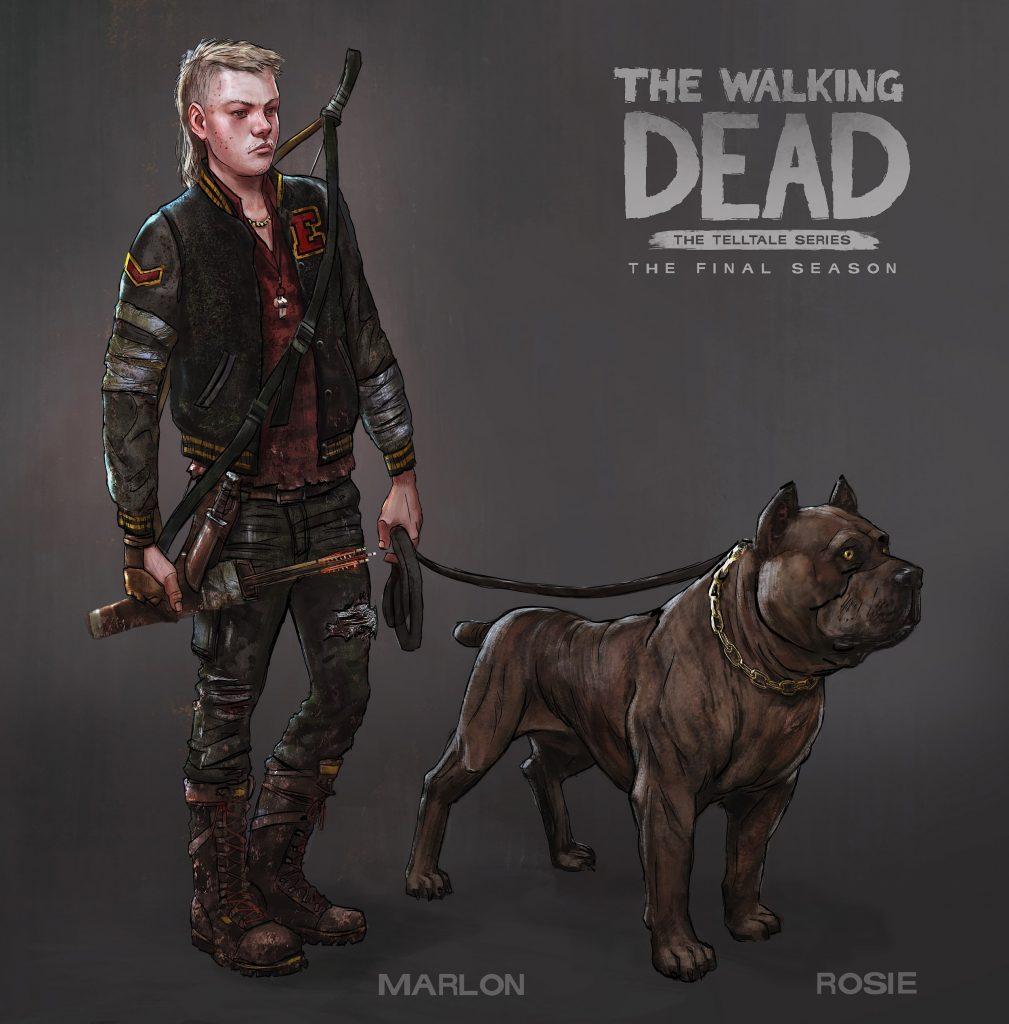 the walking dead the final season marlon