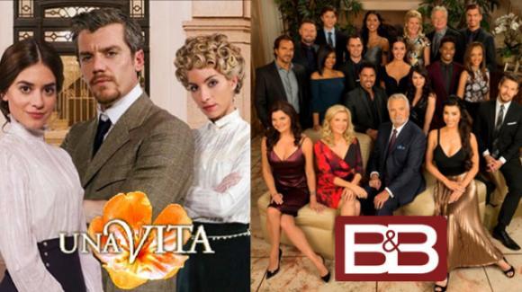 Domenica in onda Una Vita e Beautiful cancellato su Canale 5