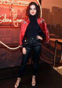 Selena Gomez all'evento Coach a NYC