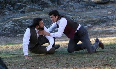 Il Segreto: lite Prudencio e Saul