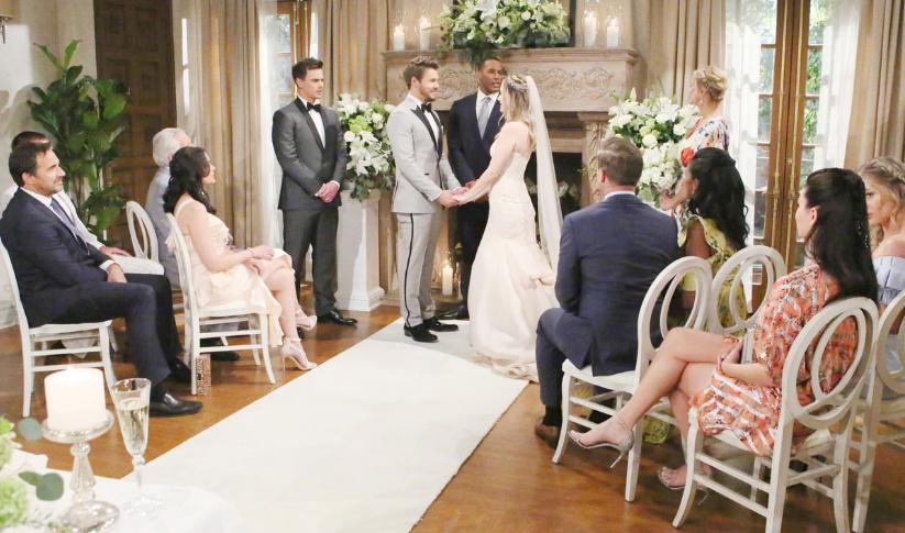 Beutiful: nozze tra Hope e Liam