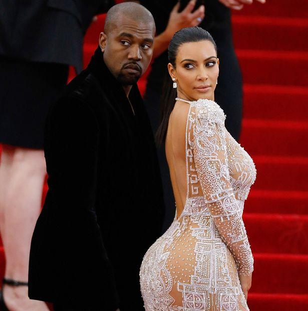 Kayne West Kim Kardashian