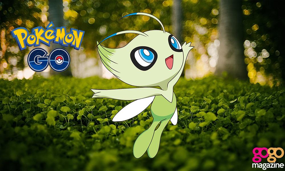 celebi pokemon go 1