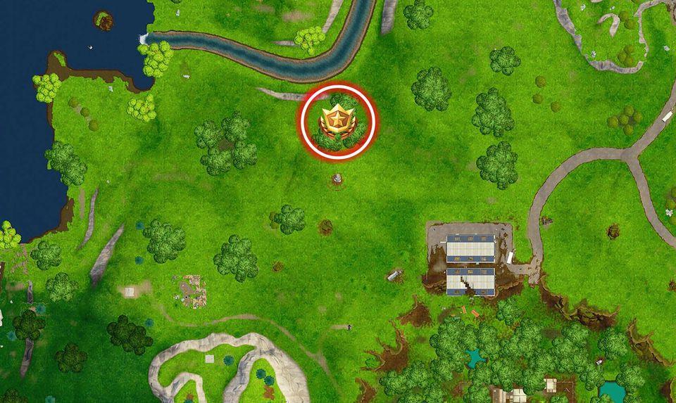 segui la mappa del tesoro trovata a sprofondo stantio