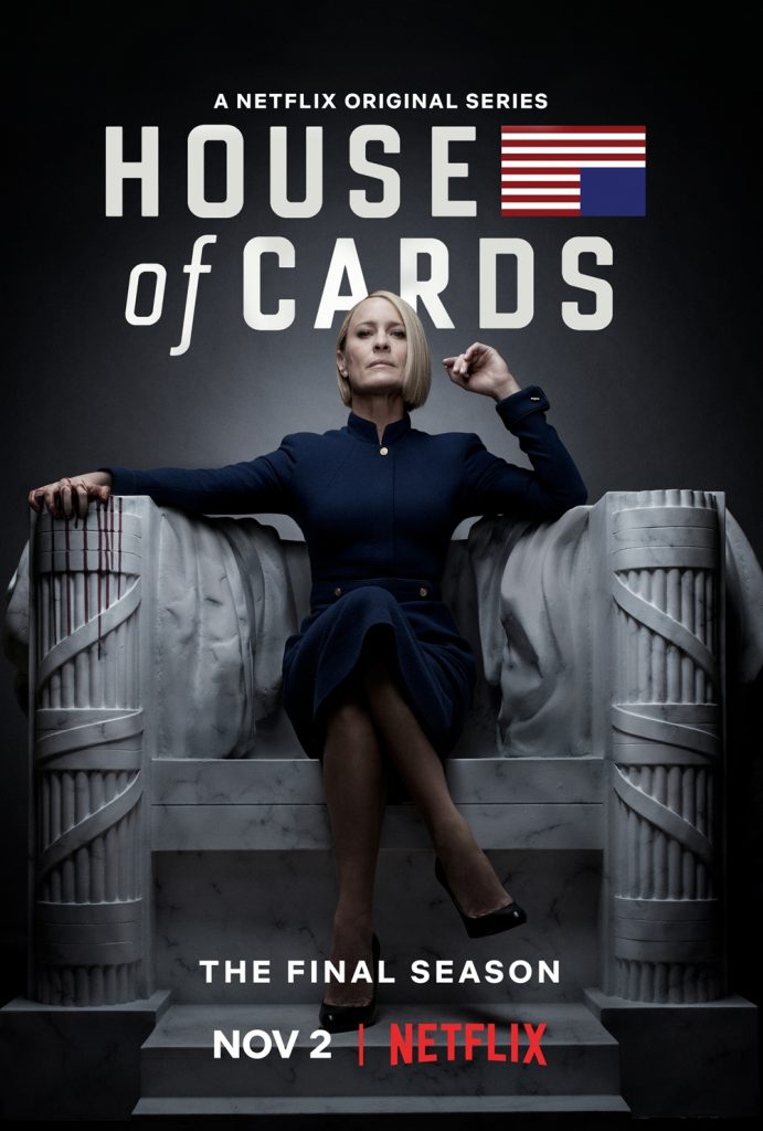 House of Cards 6 Poster ufficiale