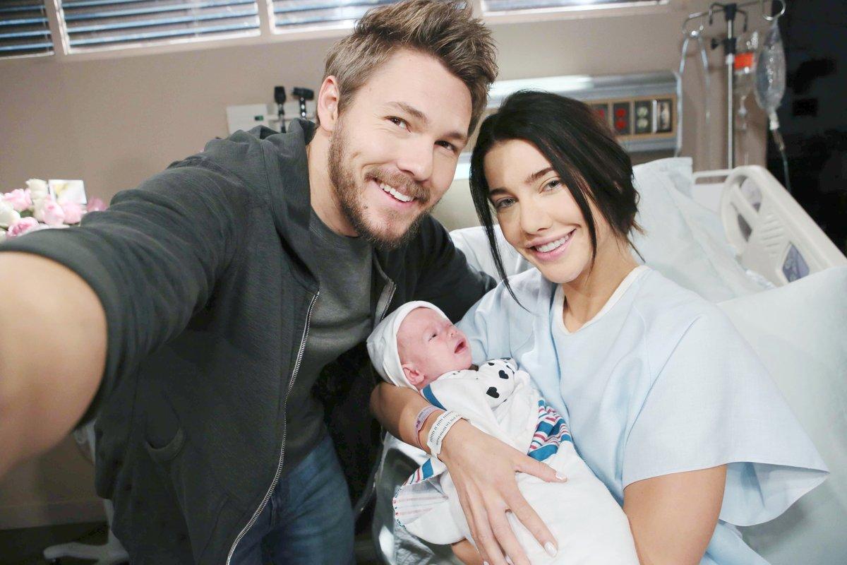 Beautiful: Liam e Steffy insieme alla piccola Kelly