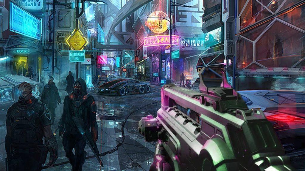 cybrpunk 2077 ambientazione