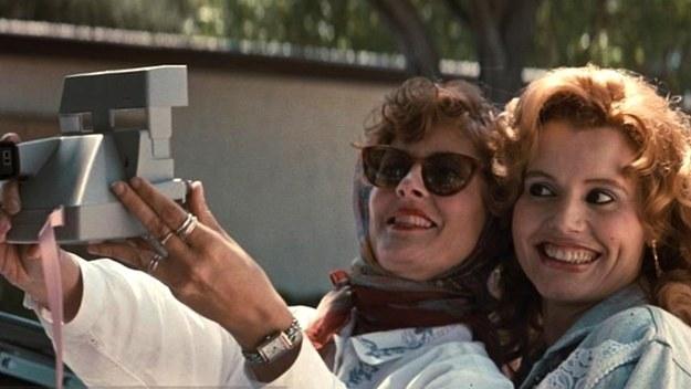 thelma e louise selfie